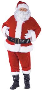 Santa Suit Complete Velour