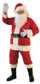 Flannel Santa Suit