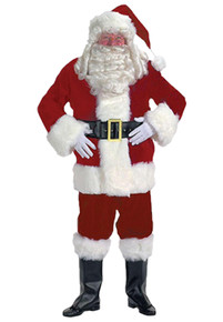 Santa Suit Deluxe Velvet