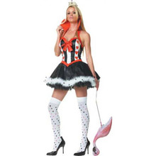 Queen Of Hearts Costume Sexy Adult XL *Clearance