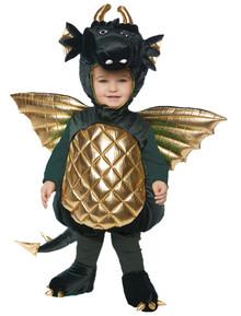 Dragon - Green Child Costume