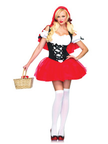 Women's Racy Red Riding Hood Costume