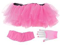 Tutu Set- Neon Pink