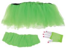 Tutu Set -Neon Green