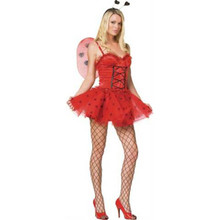 Lady Bug Costume Sexy Adult *Clearance