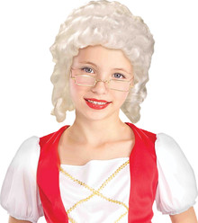 Girl's Colonial Wig
