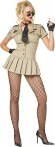 SHERIFF DRESS COSTUME ADULT