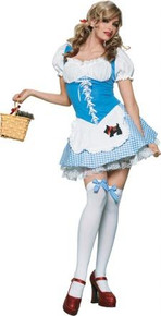 PICNIC CHICK COSTUME ADULT