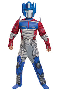Boy's Optimus EG Muscle Costume