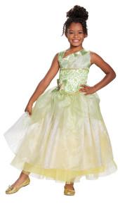 Girl's Tiana Deluxe Costume