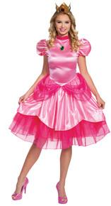 Women's Princess Peach Deluxe (2020) Costume