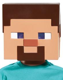 Child's Steve Vacuform Mask - Minecraft