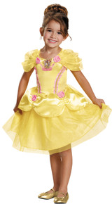 Girl's Belle Classic Costume - Beauty & The Beast