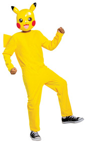 Boy's Pikachu Classic Costume SML 4-6