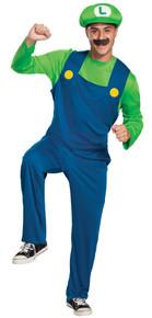 Men's Luigi Classic Costume