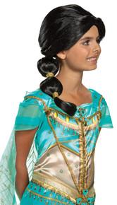 Girl's Jasmine Wig - Aladdin Live Action