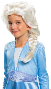 Girl's Elsa Wig - Frozen 2