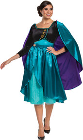 Women's Queen Anna Dress Deluxe Costume