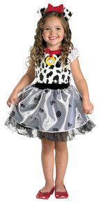 Toddler Girl's Dalmation Classic