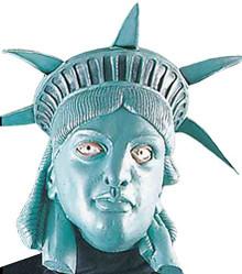 Lady Liberty Latex Mask
