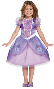 Girl's Sofia The Next Chapter Classic Costume