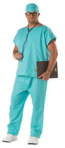 Doctor Scrubs Plus Size Adult Costume