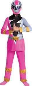 Girl's Pink Ranger Dino Fury Deluxe