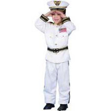 Navy Admiral Costume Child
