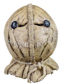 Sam Burlap Full Head Mask - Trick 'R Treat