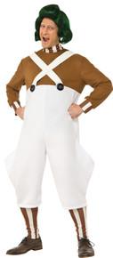 Men's Deluxe Oompa Loompa Costume