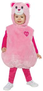Build-A-Bear Pink Cuddles Teddy Belly Baby