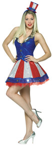 Women's Samantha Patriotic Costume