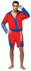 Men's Baywatch Lifeguard Suit