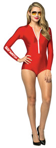 Women's Baywatch Female Lifeguard Suit