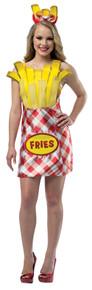 Women's French Fry Foodie Dress