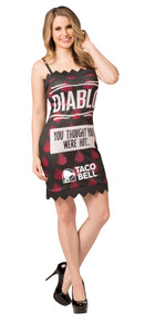 Taco Bell Packet Dress - Diablo