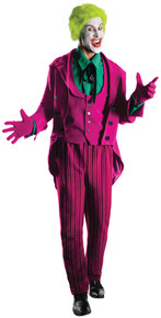 Joker Costume - Batman TV Show 1966-Men's Grand Heritage
