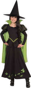 Girl's Wicked Witch Of The West Costume - Wizard Of Oz