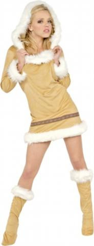 ESKIMO KISSES COSTUME ADULT