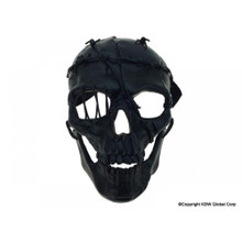Skeleton Halloween Mask Black