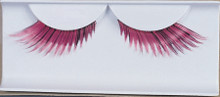Eyelashes Feather Pink