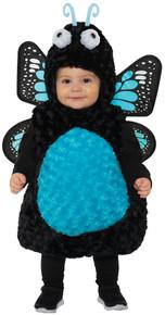 Girl's Butterfly Toddler Costume - Blue
