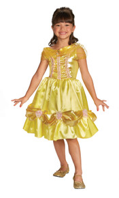 Belle Sparkle Toddler Costume - Beauty & The Beast