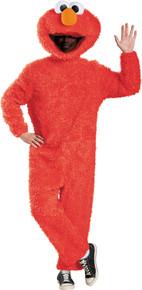 Men's Plush Elmo Prestige Costume