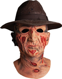 Deluxe Freddy Mask With Hat - A Nightmare On Elm Street
