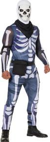 Adult Skull Trooper Costume - Fortnite