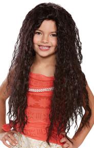 Girl's Moana Deluxe Wig - Moana