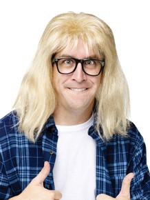 Garth Algar Wig & Glasses - Saturday Night Live