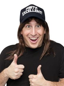 Wayne Excellent Wig & Hat - Saturday Night Live
