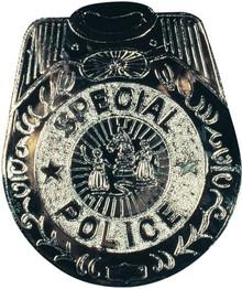 Police Badge Jumbo